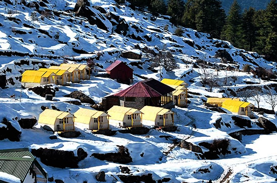 Auli India  city photo : ... Hotel GMVN Auli Tourist Bungalow Packages Tariff Offers in Auli India