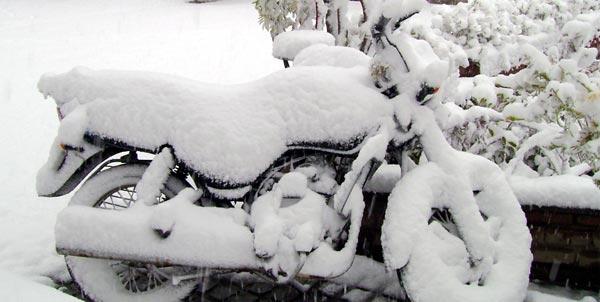 Snowfall Pictures Club Mahindra Kanatal Spa Resort