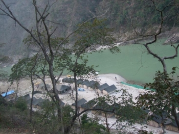 Alaknanda River Adventure Camp Photos