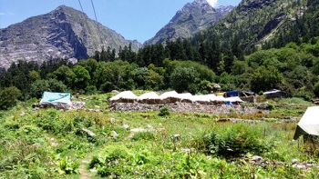 Ghangharia Valley Camp Photos