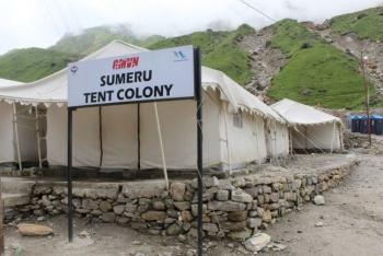 GMVN Sumeru Tent Colony Kedarnath Photos