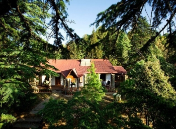 Hotel Mary Budden Estate Inside Binsar Wildlife Sanctuary