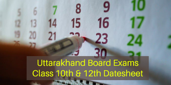 Uttarakhand Board Exams 2021 To Be Held From May 4 To May 22