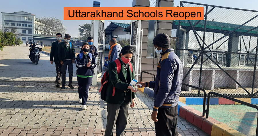 Schools In Uttarakhand Reopen After 10 Months Due To Covid-19