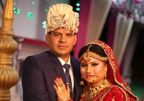 Abha and Rajesh