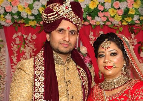 Meena and Ajay