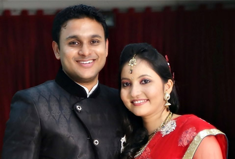 Jyoti and Ashish Negi
