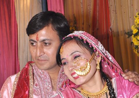 Poonam and Deepak
