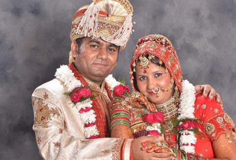 Chetna and Gaurav Pant