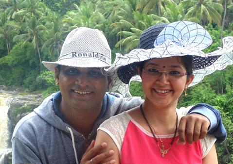 Deepa and Narender