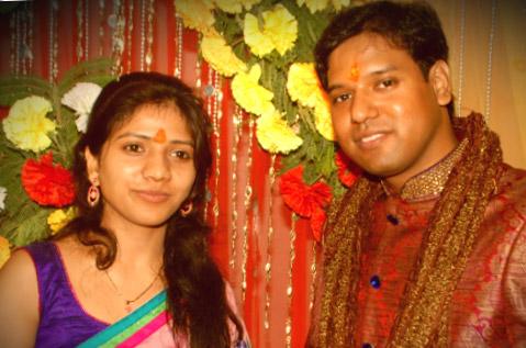 Hema and Vipin Rawat