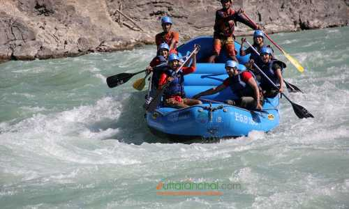 Rishikesh 1 Night Camping and Rafting Tour Package ex-Delhi