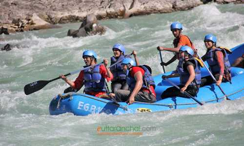 3 Days Ganga Rafting Expedition