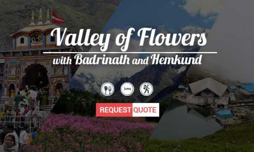 Valley of Flowers Budget Tour with Badrinath ex-Haridwar