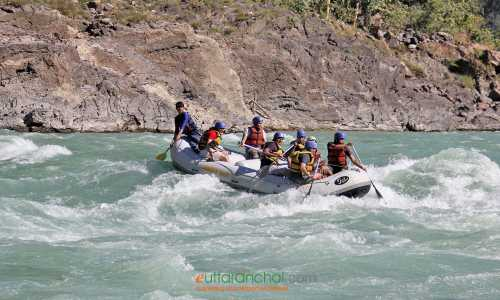 Devprayag to Rishikesh Ganga Rafting Tour