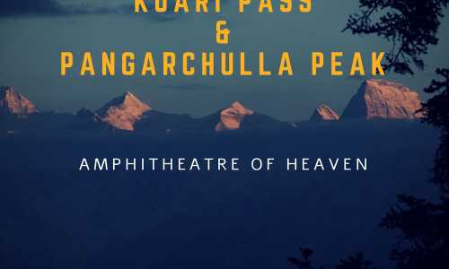 Kuari Pass with Pangarchulla Peak Trek ex-Joshimath