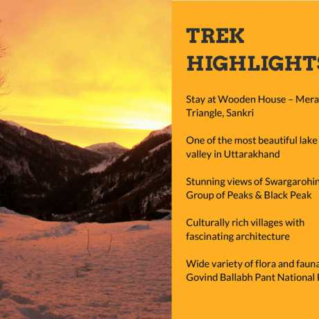 Ruinsara Tal Trek Highlights