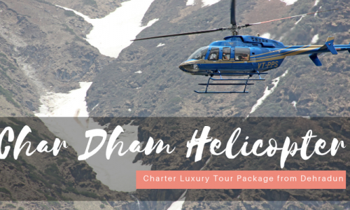 Char Dham Luxury Helicopter Tour Package ex-Dehradun
