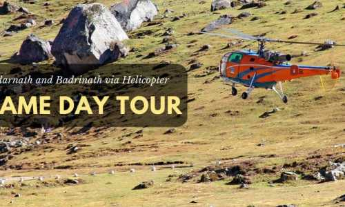 Same Day Do Dham Helicopter Tour Package ex-Dehradun
