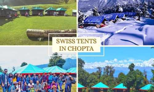 Swiss Tent Camping Package in Chopta