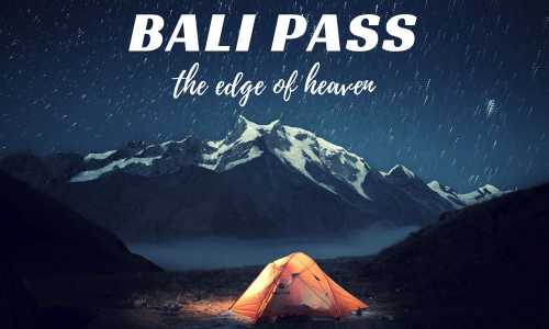 Bali Pass Fixed Departure Trekking Package