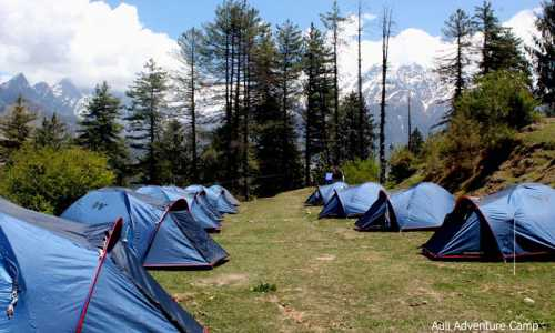2 Nights Camping Package in Auli