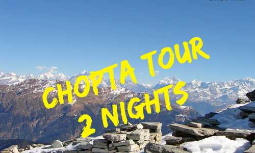 Chopta 2 Nights Trekking Tour with Tungnath Chandrashila