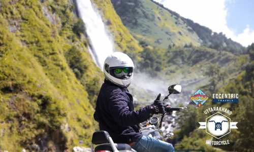 Uttarkhand Motorcycle Tour with Camping and Trekking