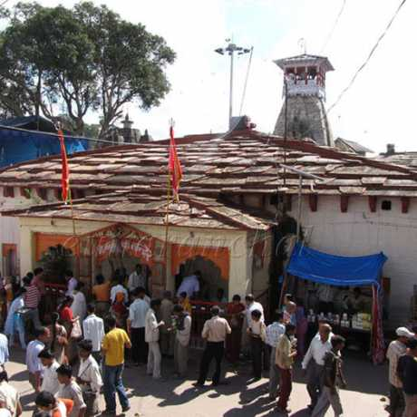 Nanda Devi Temple, Almora during the Nanda Devi Mahotsav