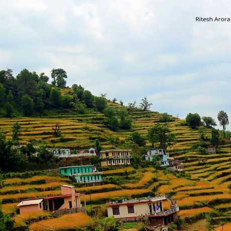 farm houses in Chamba -On the way to Tehri Dam