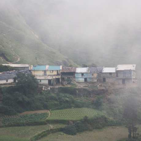 scenic village near Dhanaulti