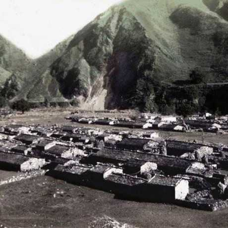 An rare picture of Old Dharchula Town