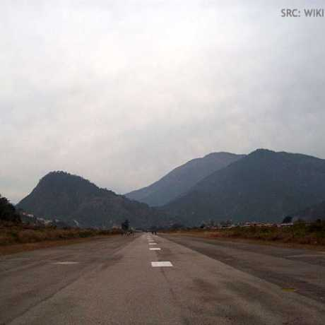 Guachar Airport Runway Strip
