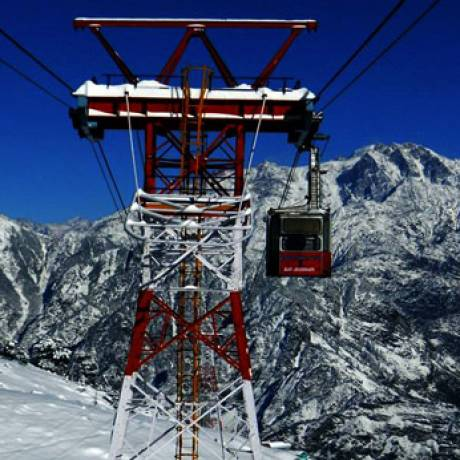 Joshimath Cable Car to Auli