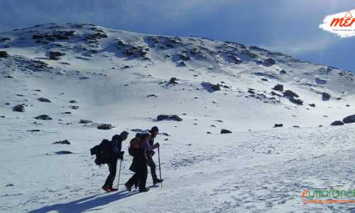 Kedarkantha Trek with Short Skiing Tour for Fun