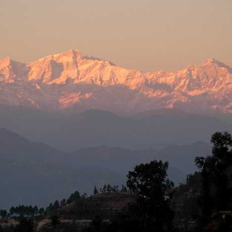 Sunrise at Khirshu, Uttarakhand