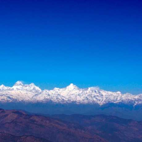 Himalayas from Himalaya from Jhuma Devi in Lohaghat
