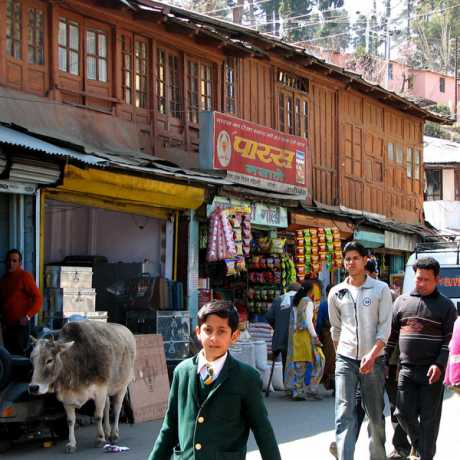Main market of Ranikhet