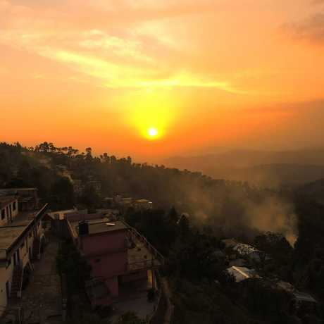 Sunset at Naini Village, Majkhali, Ranikhet