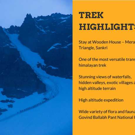 Rupin Pass Trek Highlights