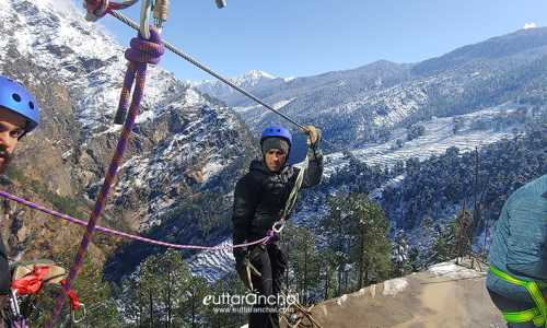 Sankri Village Tour with Zipline Activity