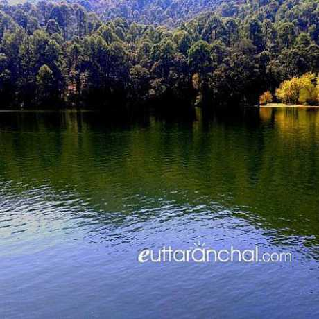 Alluring view of Sattal Lake, Nainital