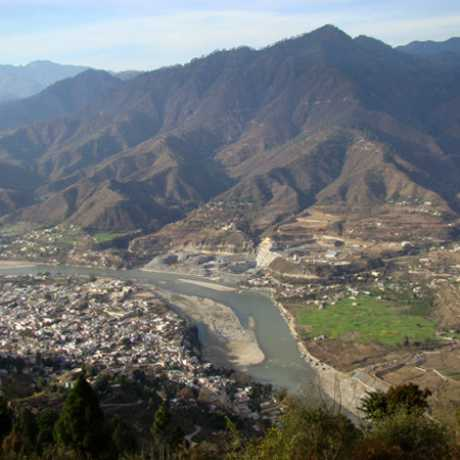 Birds Eye View of Srinagar