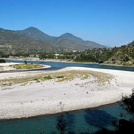 Alaknanda River in Srinagar