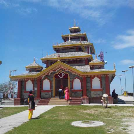 Surkanda Devi temple situated at Chamba Mussoorie road(near Dhanaulti) in Tehri District.