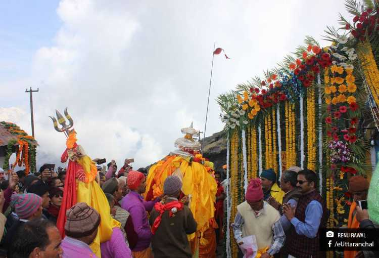 Opening of Tungnath Temple