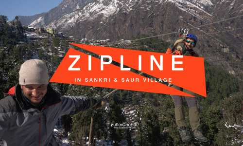 Zipline 700 in Sankri