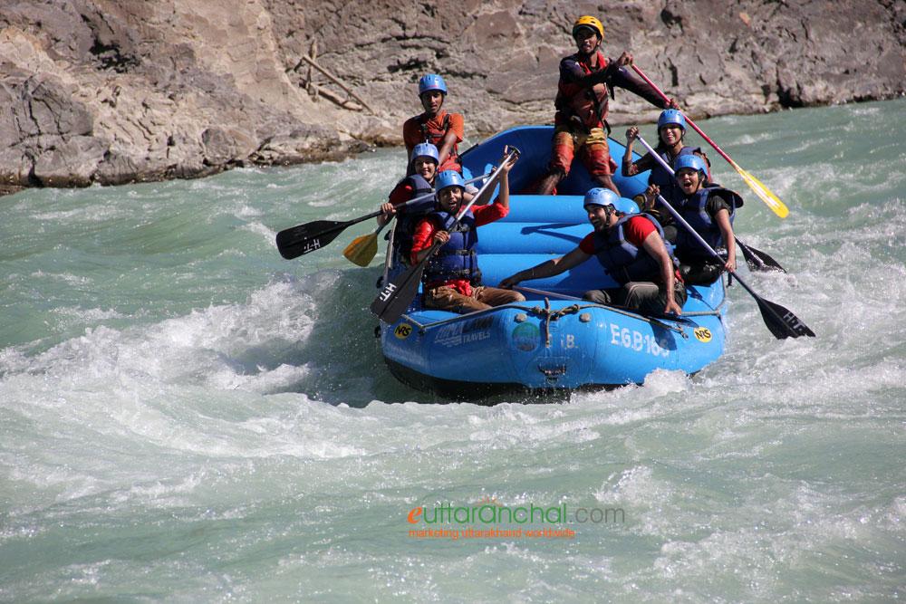 GMVN White Water River Rafting Courses In Rishikesh