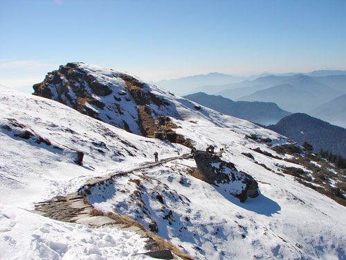 Chopta in Winters