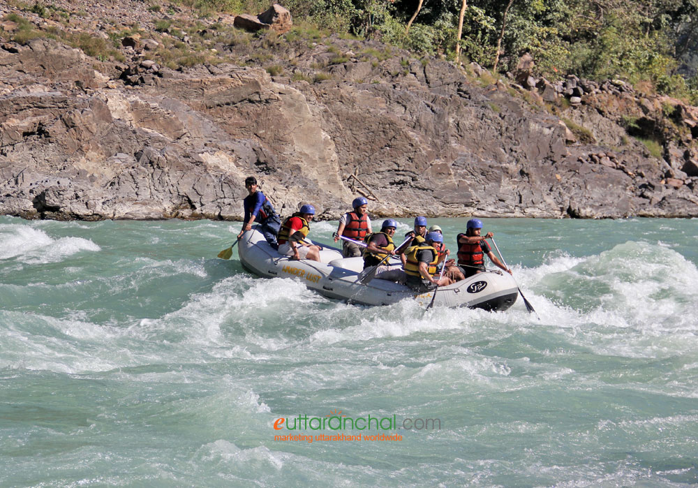 Devprayag to Rishikesh Ganga Rafting Tour Photos